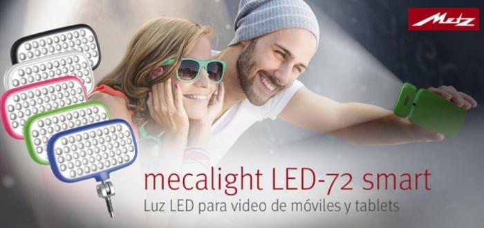 """LED 72 para """"selfies"""""""